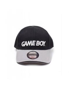 Nintendo - Black/Grey Gameboy Logo Curved Bill