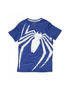 Camiseta Spiderman - Acid Wash Spider TALLA CAMISETA S