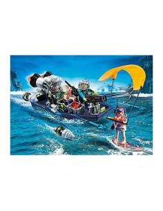 TEAM S.H.A.R.K. Nave con Arpón - Playmobil