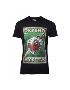 Camiseta Sword & Shield The Legend of Zelda - Hombre TALLA CAMISETA S