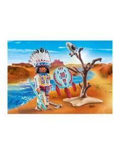 Jefe Nativo Americano - Playmobil