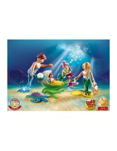 Familia con Cochecito - Playmobil