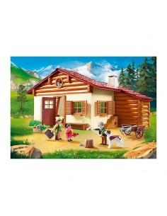 Heidi en la Cabaña de los Alpes - Playmobil