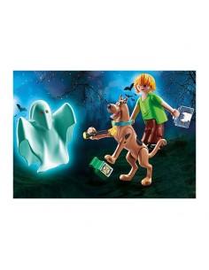 SCOOBY DOO! Scooby & Shaggy con Fantasma- Playmobil