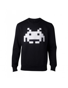 Sudadera Space Invaders Logo Classic - Hombre TALLA CAMISETA XL