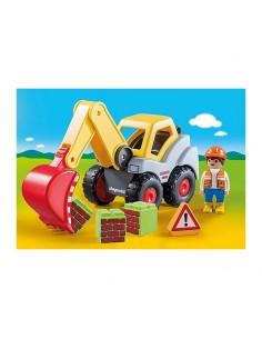 1.2.3 Pala Excavadora - Playmobil