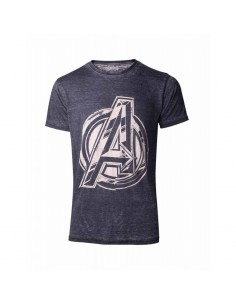 Camiseta The Avengers Logo - Hombre TALLA CAMISETA XL