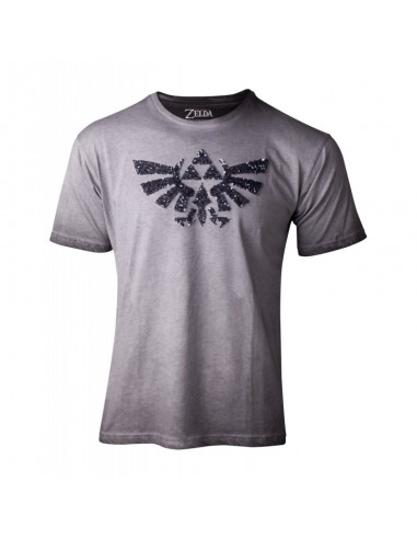 Camiseta The Legend of Zelda Logo Lentejuelas  - Mujer TALLA CAMISETA S