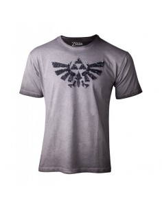 Camiseta The Legend of Zelda Logo Lentejuelas  - Mujer TALLA CAMISETA M