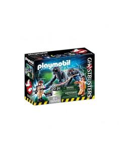 CAZAFANTASMAS - Venkman y Terror Dogs Playset - Playmobil