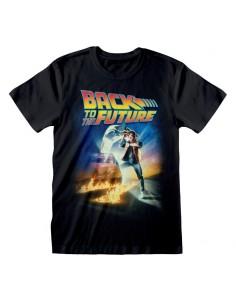 Camiseta Back To The Future - Poster - Unisex - Talla Adulto TALLA CAMISETA L