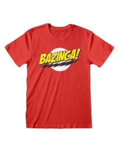 Camiseta Big Bang Theory - Bazinga - Unisex - Talla Adulto TALLA CAMISETA S