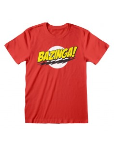 Camiseta Big Bang Theory - Bazinga - Unisex - Talla Adulto TALLA CAMISETA M