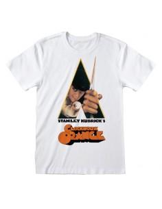 Camiseta Clockwork Orange, A - Poster White - Unisex - Talla Adulto TALLA CAMISETA S