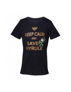 Camiseta Keep Calm and Save Hyrule Nintendo - Niño TALLA CAMISETA NIÑO TALLA 134 - 9 AÑOS