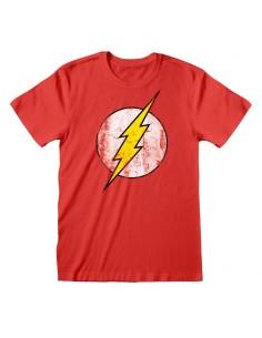 Camiseta DC Flash - Logo - Unisex - Talla Adulto TALLA CAMISETA S