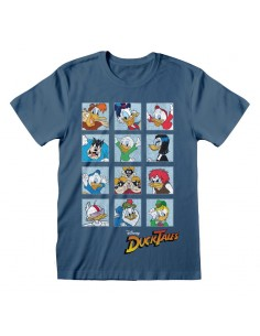 Camiseta Disney Ducktales - Squares - Unisex - Talla Adulto TALLA CAMISETA S