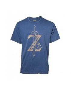 Camiseta Zelda Logo Nintendo - Hombre TALLA CAMISETA L