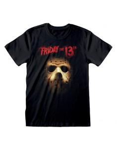 Camiseta Friday the 13th - Mask  - Unisex - Talla Adulto TALLA CAMISETA S