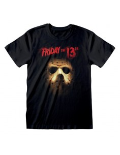 Camiseta Friday the 13th - Mask  - Unisex - Talla Adulto TALLA CAMISETA XL