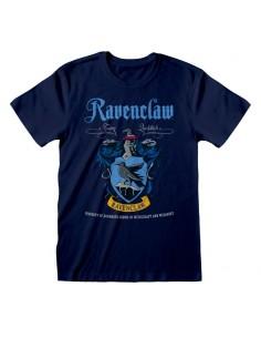 Camiseta Harry Potter - Ravenclaw Blue Crest - Unisex - Talla Adulto TALLA CAMISETA M