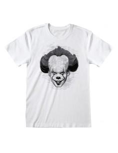 Camiseta IT Chapter 2 - BW Face - Unisex - Talla Adulto TALLA CAMISETA XL