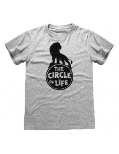 Camiseta Lion King 2019 - Circle Of Life - Unisex - Talla Adulto TALLA CAMISETA L