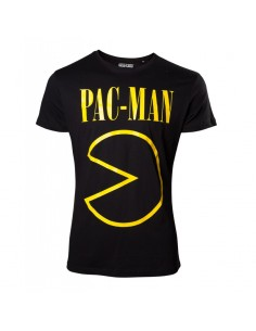 Camiseta Pac-Man Logo - Hombre TALLA CAMISETA L