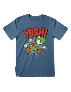 Camiseta Nintendo Super Mario - Yoshi  - Unisex - Talla Adulto TALLA CAMISETA L