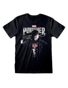 Camiseta Punisher TV - Frank Poster - Unisex - Talla Adulto TALLA CAMISETA L