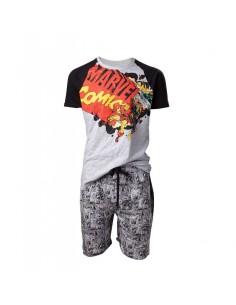 Pijama Corto Comic Style Logo - Hombre TALLA CAMISETA M