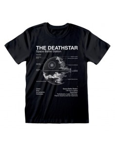 Camiseta Star Wars - Death Star Sketch  - Unisex - Talla Adulto TALLA CAMISETA XL