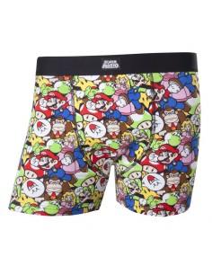Calzoncillos Mario and Friends Nintendo - Hombre TALLA CAMISETA XL