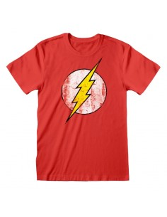 Camiseta DC Flash - Logo - Unisex - Talla Adulto TALLA CAMISETA M