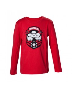 Camiseta Stormtrooper Manga Larga - Niño TALLA CAMISETA NIÑO TALLA 86 - 2 AÑOS