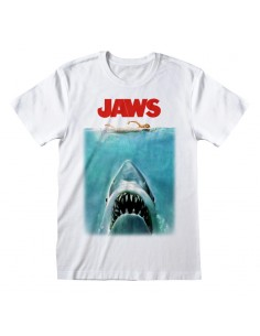 Camiseta Jaws - Poster - Unisex - Talla Adulto TALLA CAMISETA L