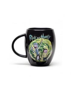 Taza Oval Rick and Morty Portal