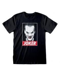 Camiseta DC Batman - The Joker - Unisex - Talla Adulto TALLA CAMISETA XL