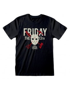 Camiseta Friday the 13th - The Day Everyone Dies  - Unisex - Talla Adulto TALLA CAMISETA M