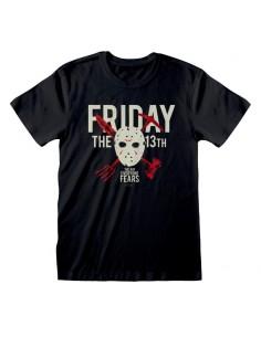 Camiseta Friday the 13th - The Day Everyone Dies  - Unisex - Talla Adulto TALLA CAMISETA XL