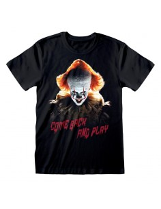 Camiseta IT Chapter 2 - Come Back And Play  - Unisex - Talla Adulto TALLA CAMISETA S