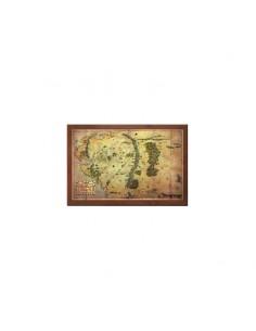 El Hobbit - Mapa de la Tierra Media