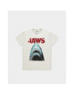 Tiburón Camiseta Jaws Poster TALLA CAMISETA S