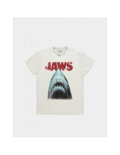 Tiburón Camiseta Jaws Poster TALLA CAMISETA M